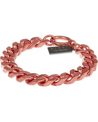 The Kooples | Red Chain Bracelet - For Women | Lyst