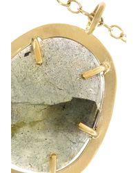 Melissa Joy Manning | Metallic 14-Karat Gold Labradorite Necklace | Lyst