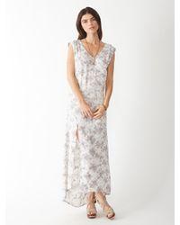 Alternative Apparel - Gray Hibya Taki Wash Dress - Lyst