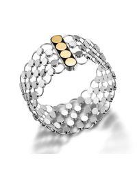 John Hardy | Metallic Chain Mail Bracelet | Lyst