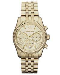 Michael Kors - Metallic Mk5556 Lexington Gold Ladies Bracelet Watch - Lyst