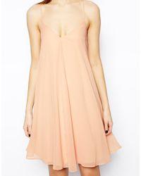 ASOS | Orange Swing Cami Dress | Lyst