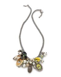 Venessa Arizaga - Metallic Makai Necklace - Lyst