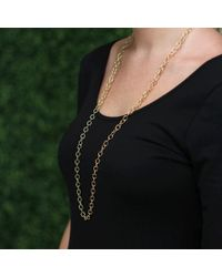 Pamela Huizenga - Yellow Solid Round Link Necklace - Lyst