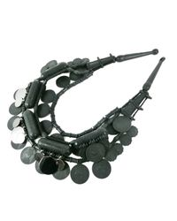 EK Thongprasert - Black Silicone Coin Necklace - Lyst