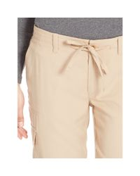 Ralph Lauren - Natural Sueded Cargo Pant - Lyst