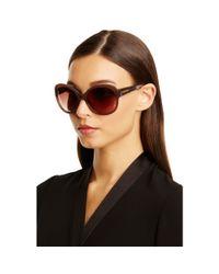 Diane von Furstenberg - Purple Lilah Round Sunglasses - Lyst