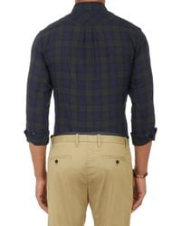Marc By Marc Jacobs - Blue Stanley Plaid Shirt for Men - Lyst