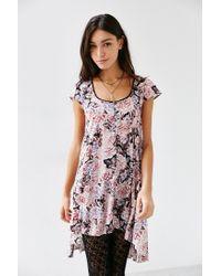 Kimchi Blue | Pink Elizabeth Angled Bodice Dress | Lyst