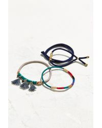 Urban Outfitters | Yellow Raw Jem Ponytail Holder Set | Lyst