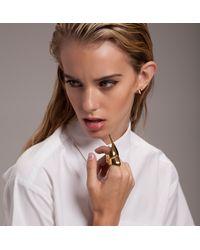 Eddie Borgo | Metallic Pharoah Ring | Lyst