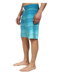 Billabong | Blue All Day Plaid Boardshort for Men | Lyst
