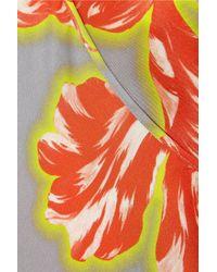 Jonathan Saunders | Gray Ginger Tulip-print Silk-twill Camisole | Lyst