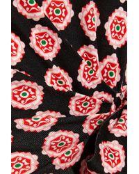 Diane von Furstenberg - Pink Zoe Printed Silk-jersey Mini Dress - Lyst