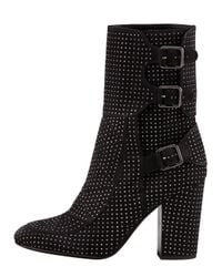 Laurence Dacade | Black Rick Studded Suede Boots | Lyst