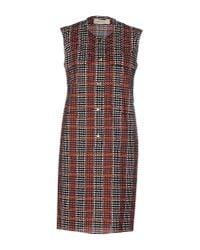 Marni - Purple Short Dress - Lyst
