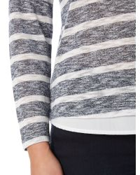 Linea Weekend | Blue Cavern Double Layer Top | Lyst