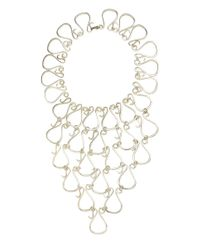 Efva Attling - Metallic One Of A Kind Armor Of Lovers Necklace - Lyst