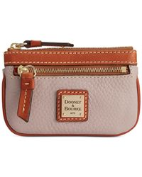 Dooney & Bourke | Natural Pebble Coin Case | Lyst