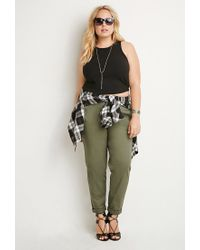 Forever 21 - Green Classic Chino Pants - Lyst