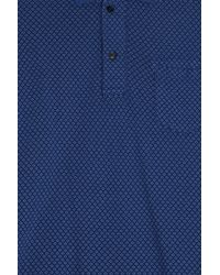 120% Lino - Blue Cruise Polo Shirt for Men - Lyst