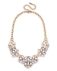 BaubleBar - Pink Crystal Trellis Necklace - Lyst