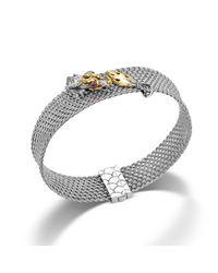 John Hardy | Metallic Mesh Bracelet | Lyst