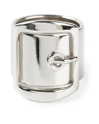 Givenchy | Metallic Buckle Ring | Lyst