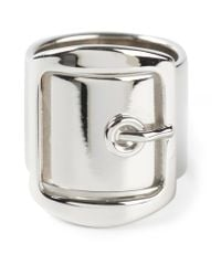 Givenchy - Metallic Buckle Ring - Lyst