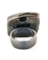 Kelly Wearstler - Gray 'barrington' Ring - Lyst