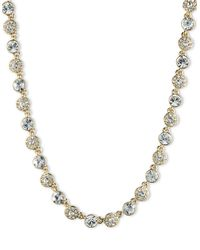 Givenchy | Metallic Crystal Collar Necklace | Lyst