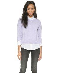 DEMYLEE - Purple Giselle Sweater - Lavender - Lyst
