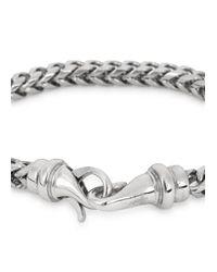Vitaly | Metallic Kusari Silver Tone Bracelet for Men | Lyst