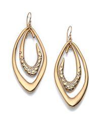 Alexis Bittar - Metallic Miss Havisham Liquid Crystal Orbiting Link Drop Earrings - Lyst