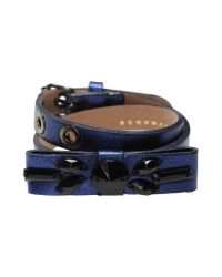 Schumacher | Blue Bracelet | Lyst