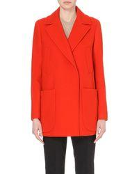 Sportmax | Orange Bye Wool-blend Coat | Lyst