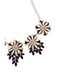 Oasis | Multicolor Flower Chain Necklace | Lyst