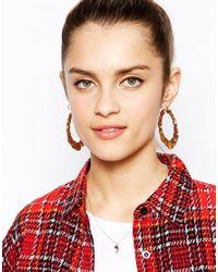 ASOS | Metallic Flamingo Necklace | Lyst