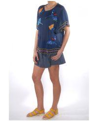 Elle Sasson - Blue Navy Rey Top - Lyst