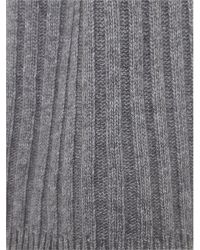 Replay - Gray Wool-viscose Scarf for Men - Lyst