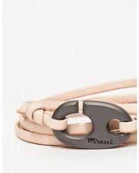 Miansai - Brummel Hook Noir On Natural for Men - Lyst