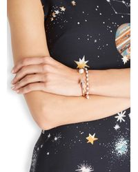 Eddie Borgo | Pink Rose Gold-plated Pearl Bracelet | Lyst