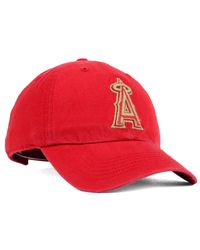 KTZ - Red '47 Brand Los Angeles Angels Of Anaheim Stillwater Clean Up Cap for Men - Lyst