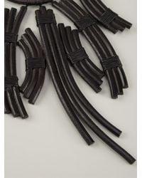 Urban Zen | Black Tribal Butterfly Necklace | Lyst
