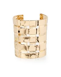 Aurelie Bidermann | Metallic Marella Gold-plated Cuff | Lyst