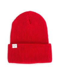 Herschel Supply Co. | Red Quartz Beanie for Men | Lyst