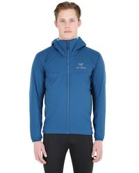 Arc'teryx - Blue Atom Lt Hoody Nylon Jacket for Men - Lyst