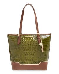 Brahmin | Brown 'asher' Tote | Lyst