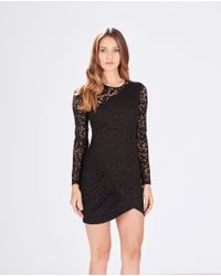 Parker | Black Shadow Dress | Lyst