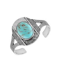 Lucky Brand | Blue Turqouse Cuff Bracelet | Lyst